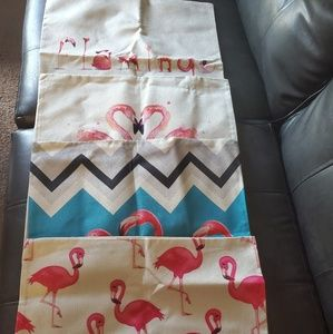Brand new flamingo couch pillow covers